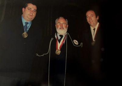 Ministro de agricultura con José Carlos Hurtado